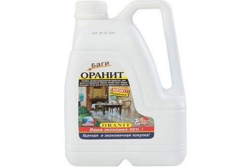 средство для мытья полов Оранит