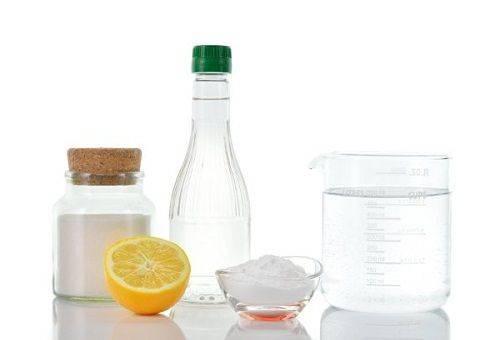 ингредиенты для моющего средства для окон