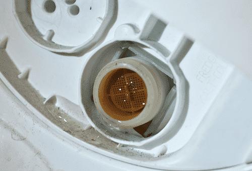 Сеточка заливной трубы стиральной машины