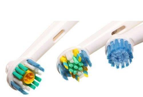 Типы электрических зубных щеток