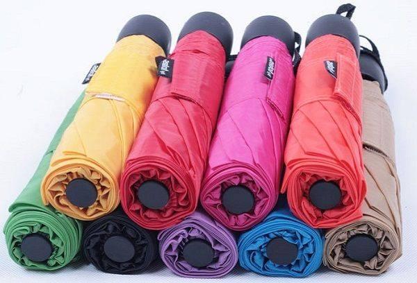 Зонты разных цветов