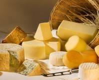 Разные сорта сыра