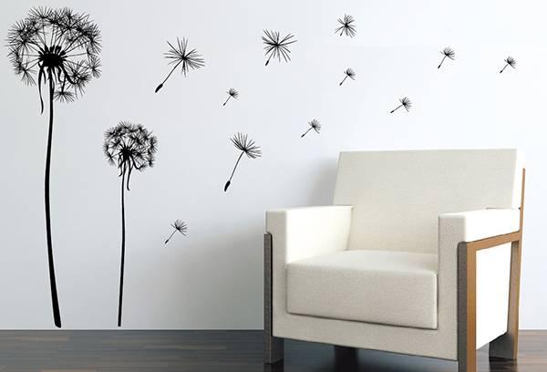 Виниловые наклейки на стену