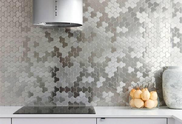 Мозаика в рабочей зоне на кухне
