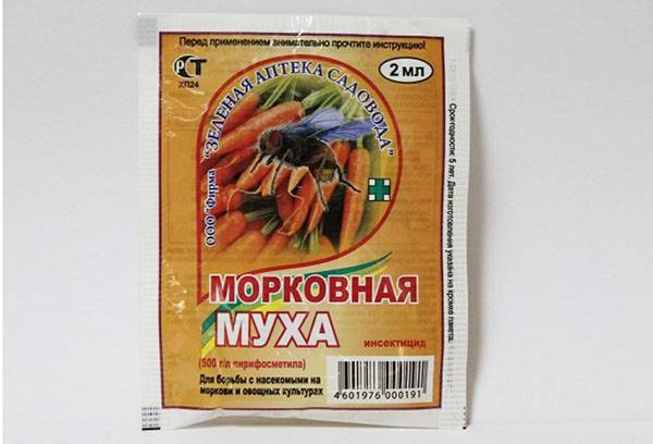 Химический препарат от морковной мухи