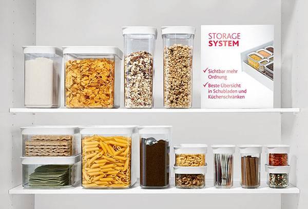 Набор для хранения продуктов на кухне