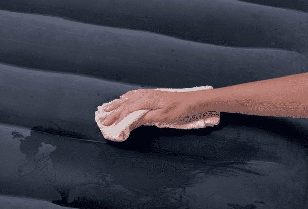Чистка надувного матраса