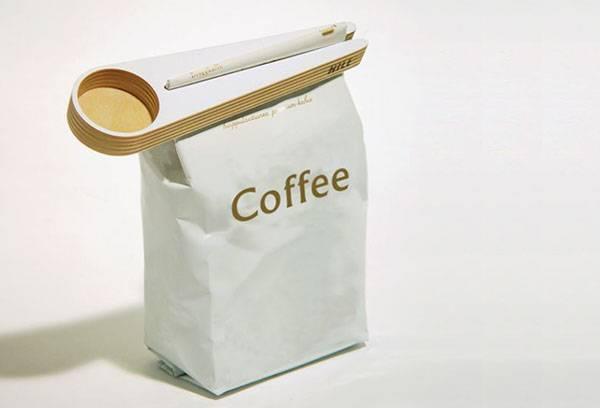 Специальный пакет для хранения кофе