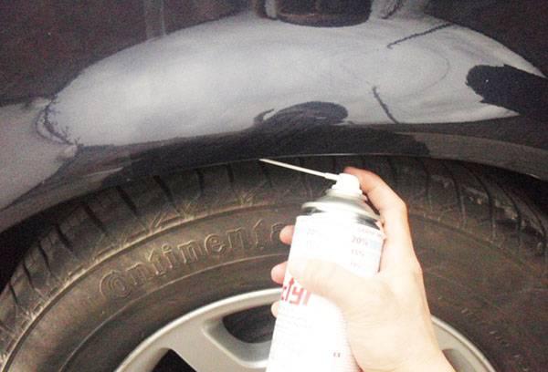 Использование мовиля для обработки кузова автомобиля