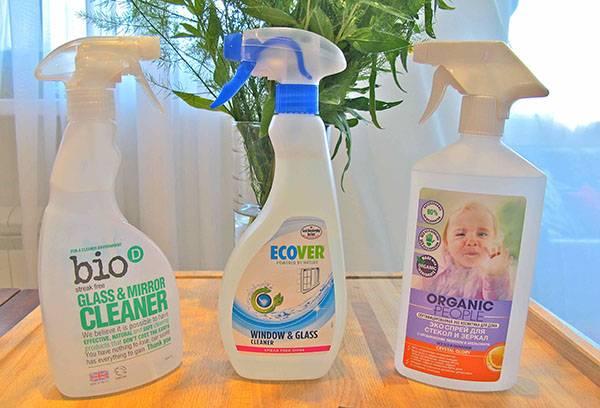 Экологичные средства для чистки