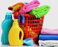 Махровые полотенца и средства для их стирки