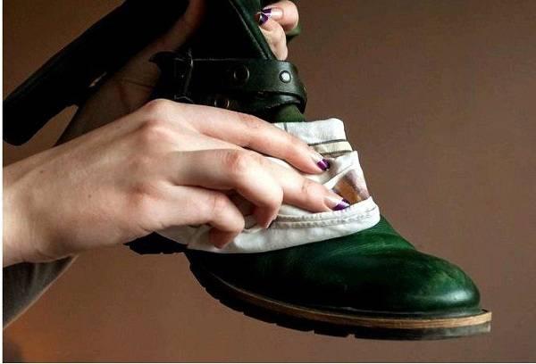 обувь с финишной обработкой