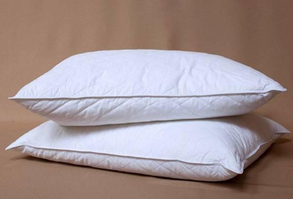 Чистые пуховые подушки