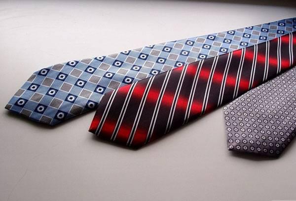Отглаженные галстуки