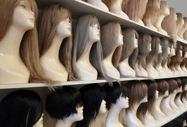 Ассортимент париков