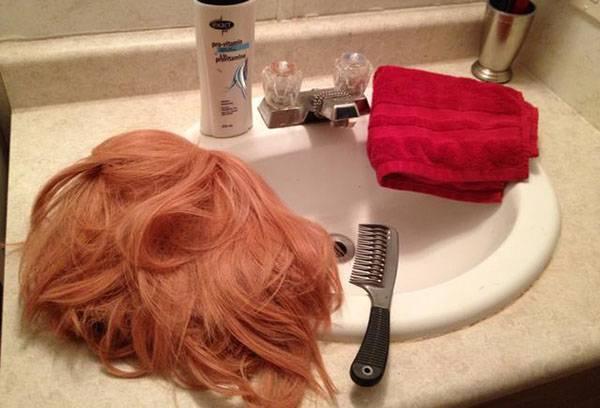 Синтетический парик