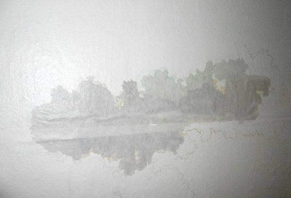 Мокрое пятно на потолке