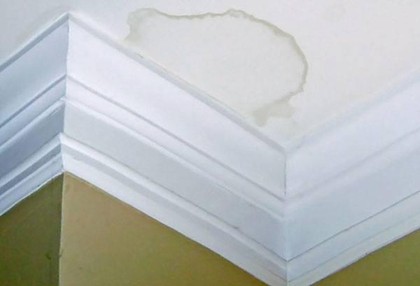 Масляное пятно на потолке