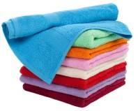 махровые полотенца разного цвета