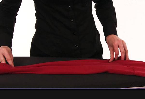 Глажка шелкового платья