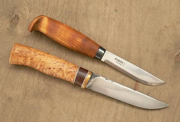 Очищенные от ржавчины ножи