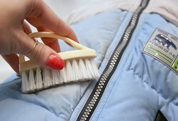 Как в домашних условиях сделать химчистку куртки
