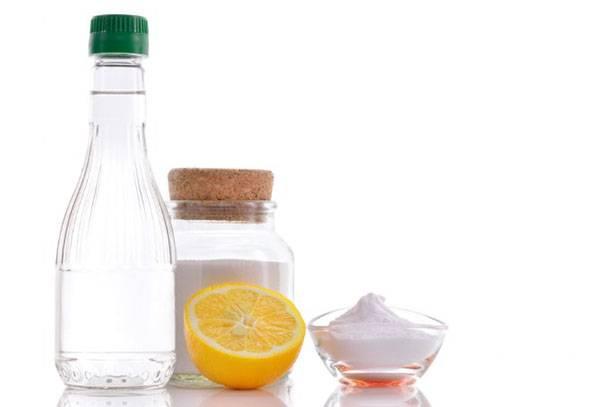 Уксус, сода и лимон