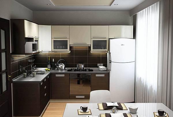 Дизайн кухни со встроенной духовкой