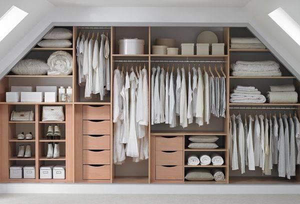 классическая гардеробная система
