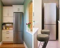 Холодильник на совмещенной лоджии