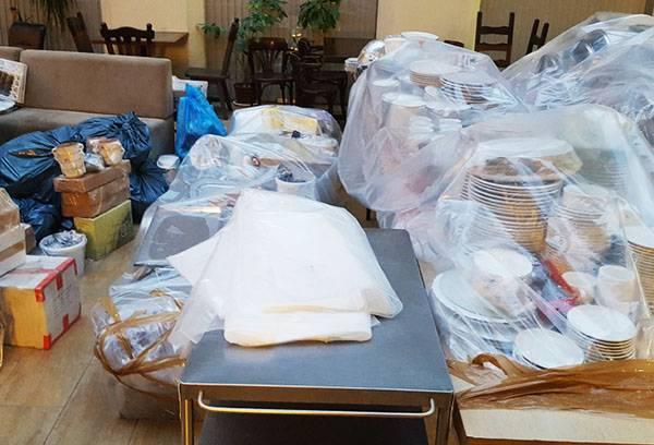 Подготовка помещения к дезинсекции