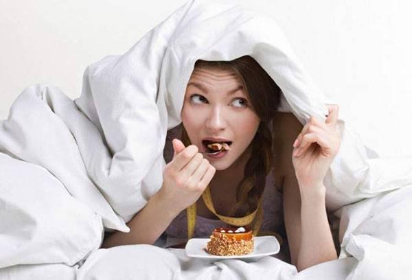 Сбои в питании при недосыпании