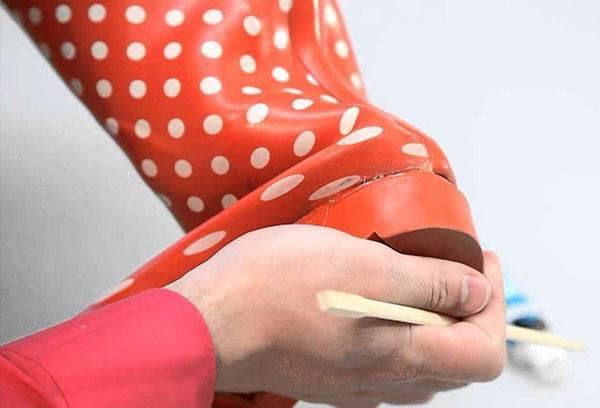 Ремонт резинового сапога
