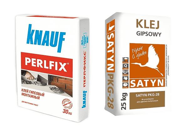 Клеевые смеси для гипсовой плитки