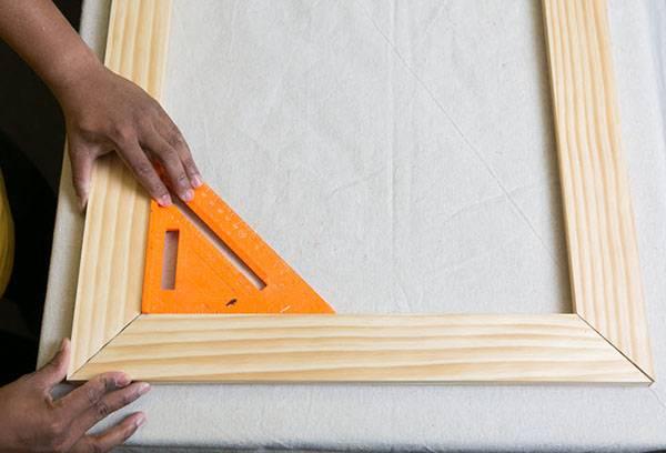 Склеивание деревянного багета