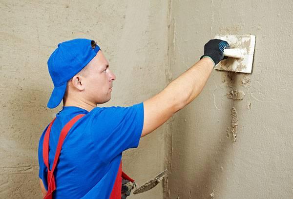 Подготовка поверхности стен к укладке плитки