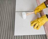 Монтаж напольной плитки