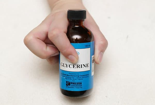 Флакон с глицерином