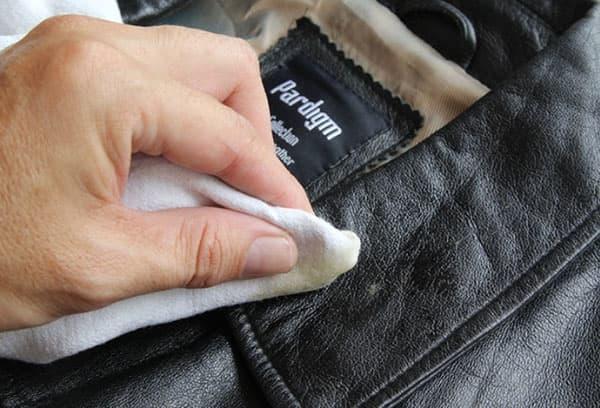 Чистка кожаной куртки глицерином