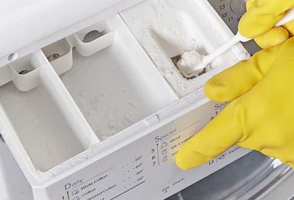 Чистка лотка для стирального порошка