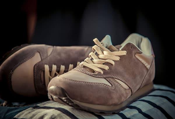 Сушка замшевых кроссовок