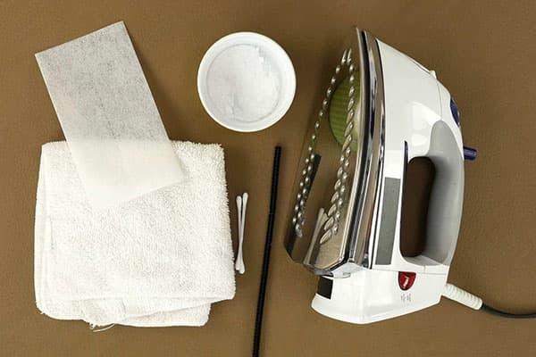 Пищевая сода для чистки подошвы утюга