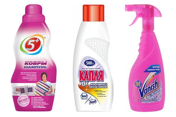 Лучшие средства для влажной чистки ковров