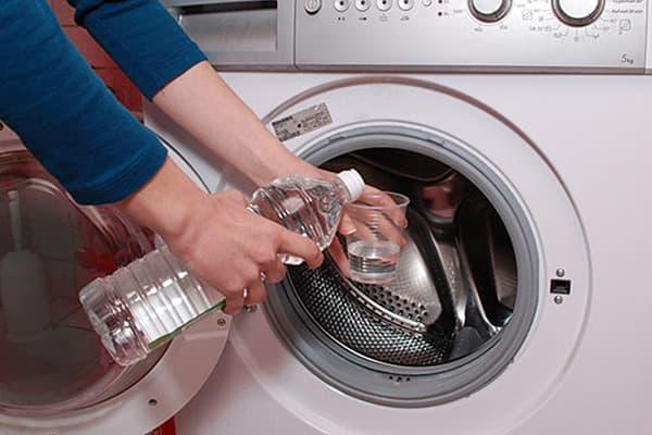 Чистка стиральнйо машины уксусом