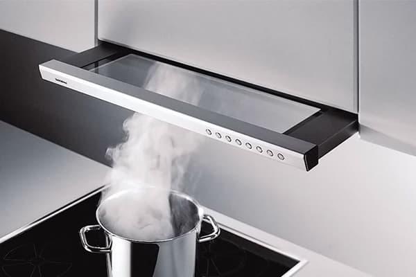 Кухонная вытяжка небольшой мощности