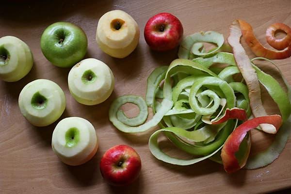 Кожура яблок