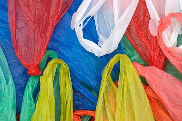Цветные целлофановые пакеты