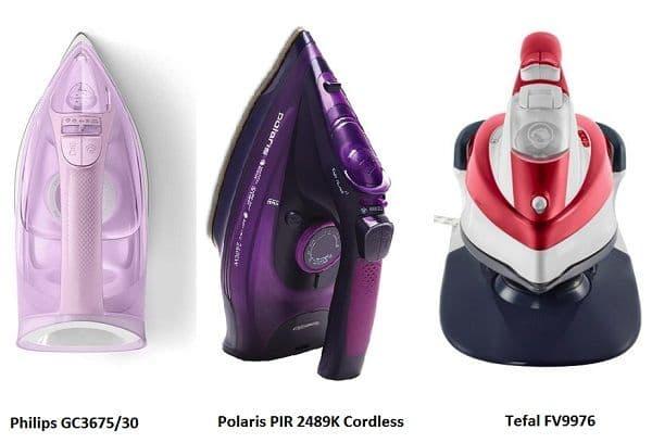 Утюги разных брендов