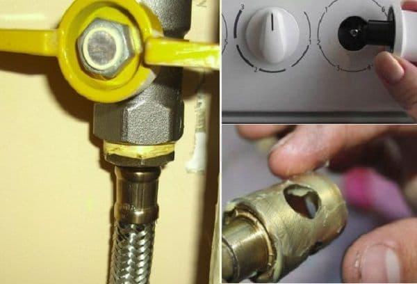 разборка и смазка газовой плиты