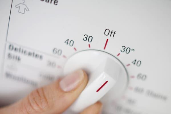 Выбор температуры стирки